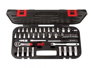 "AmPro Bit And Socket Set 1/4"" 45Pc SOCS-T45603"