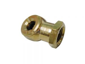 "AmPro Brass Tyre Chuck 6mm (1/4"") Female NPT CHUT-A1435"