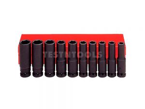 "AmPro Deep Impact Socket Set 1/2"" 6PT 10Pc SOCS-A5614"