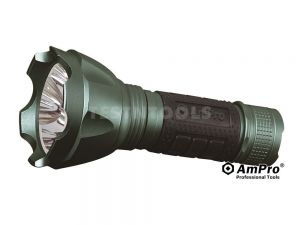 AmPro Rechargeable LED Torch 1700 Lumens LIGL-T24152