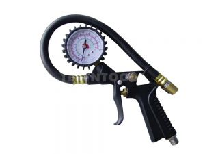 AmPro Tyre Inflator With Gauge Pistol Grip INFT-A1431