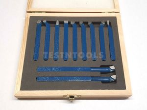 Desic Carbide Tipped Turning Tool Set 8mm 11 Piece