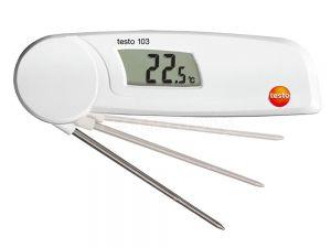 Testo Mini Folding Food Thermometer 103