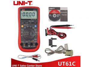 UNI-T Modern Digital Multimeter CAT IV 600V UT61C