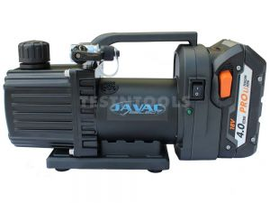 JAVAC Cordless Two Stage Vacuum Pump 30 l/m 1 cfm Makita Adapter CDC30
