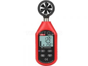 UNI-T Digital Mini Anemometer Wind Speed Meter UT363BT