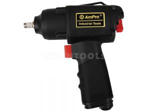 "AmPro Air Impact Wrench Twin Hammer 3/8"" Dr 280 ft/lbs WREI-A3634"