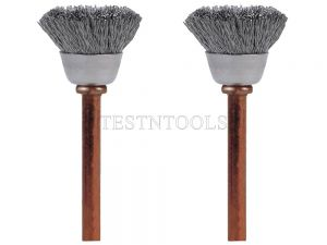 Dremel Stainless Steel Brush 12.7mm 2 Pack 531-02 26150531AA