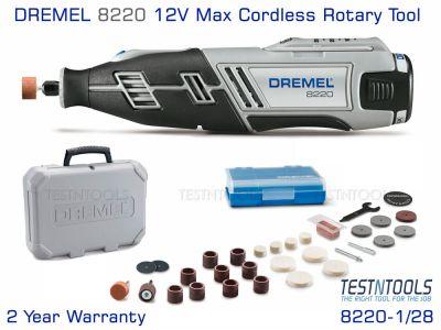 Dremel 8220 12V Max Rotary Tool Kit 8220-1/28 F0138220AJ