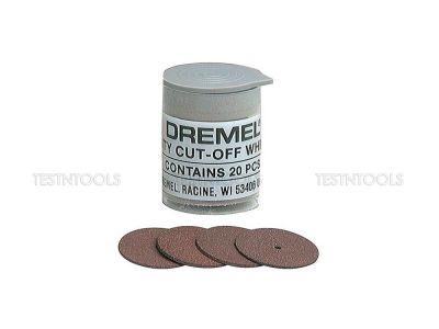 Dremel Heavy Duty Cut-Off Wheels 23.8mm 20 Pack 420 2615000420