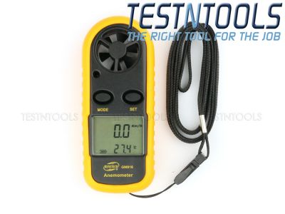 Benetech Digital Anemometer Wind Speed Meter GM816