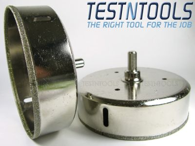 Desic Diamond Coated Holesaw Glass And Tiles 128mm