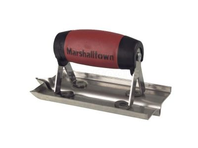 Marshalltown Stainless Steel Hand Groover 150mm X 75mm x 6.35mm MT180