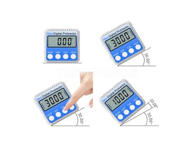 Sinsui Mini Digital Protractor Angle Box With Magnets SY810
