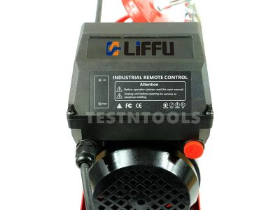 Liffu Electric Hoist 230V Wire Rope 18m 300Kg PA300 With Remote Control