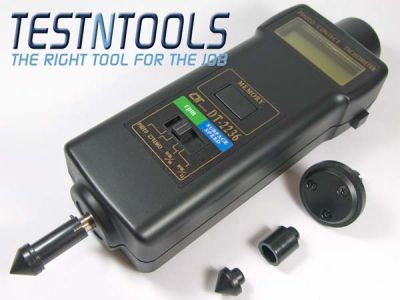Lutron Digital Tachometer Contact And Optical DT2236