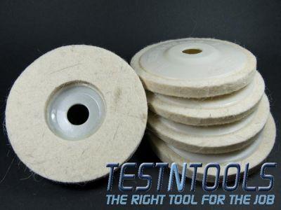 Desic Wool Polishing Pads 100mm (5 Pack) 5WPP
