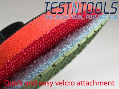 Desic Diamond DRY Polishing Pads 7 Grits And 100mm M14 Backing Pad