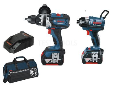 Bosch 18V 2pc 5.0Ah Brushless Combo Kit DBR2-PEC 0615990HB8