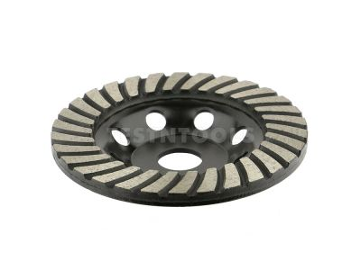 Desic Diamond Black Turbo Concrete Grinding Cup 125mm