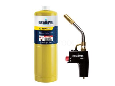 Bernzomatic-Gas-Torch-Kit-Trigger-Start-With-MG9-Gas-Cylinder-GAST-TS4000TK