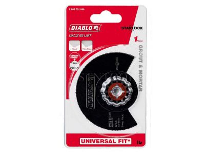 Diablo Segment Blade For Grout and Mortar 85mm DACZ85RT3 2608F01090
