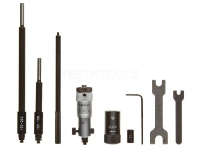 Mitutoyo Inside Micrometer Interchangeable Rod 50-200mm 3 Rod 141-205