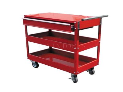 Torin Big Red Tool Cart With Drawer 3 Tier CART-01