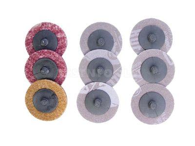 AmPro Air Sanding Pad Set 50mm 9Pc PADS-A1705