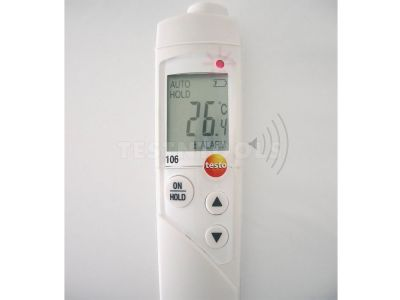 Testo Digital Food Thermometer Set With Topsafe 106-T3