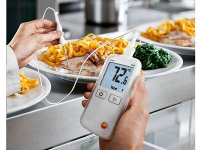 Testo Digital Food Thermometer With Pen Probe 108